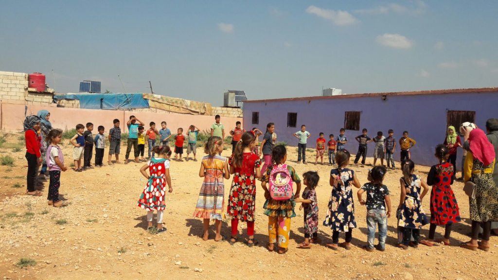 Education & Child Activities in Atma Camp - Idlib4
